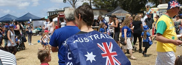 Australia Day at Rippleside