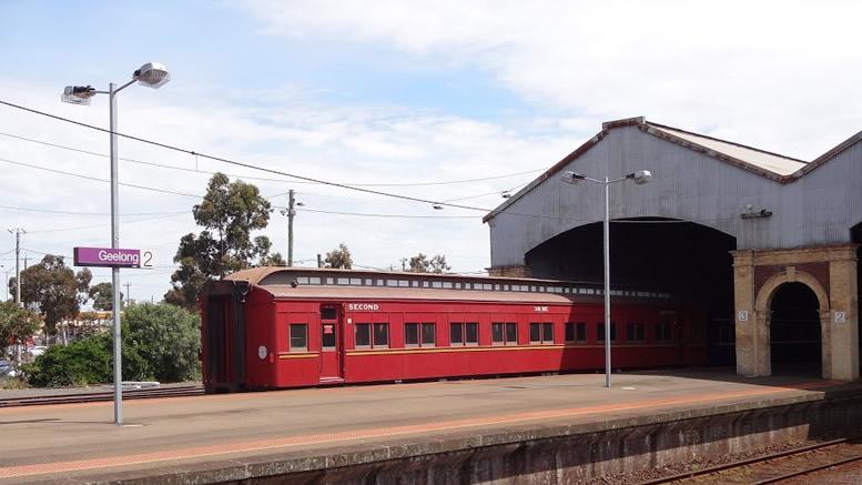 Geelong Railway Station Intown Geelong